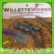 Willette Works Custom Plastic Fishing Baits