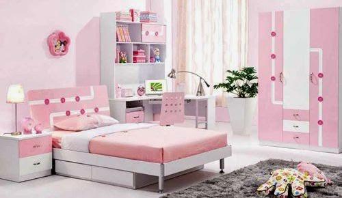 desain kamar tidur anak perempuan terbaru saat ini