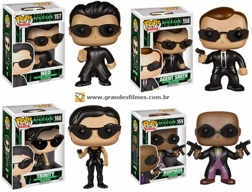 Bonecos Funko Pop Matrix