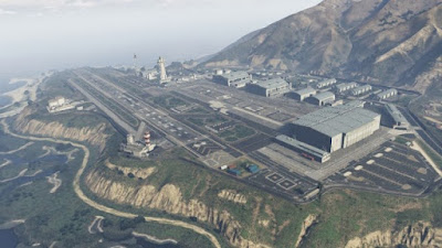 GTA V Fort Zancudo
