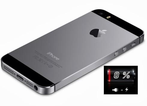 Per un difetto di fabbricazione alcuni Apple iPhone 5s consumano velocemente la batteria