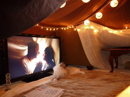 Date Night Fort Grown Up