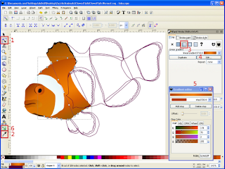 Clown Fish Gradients