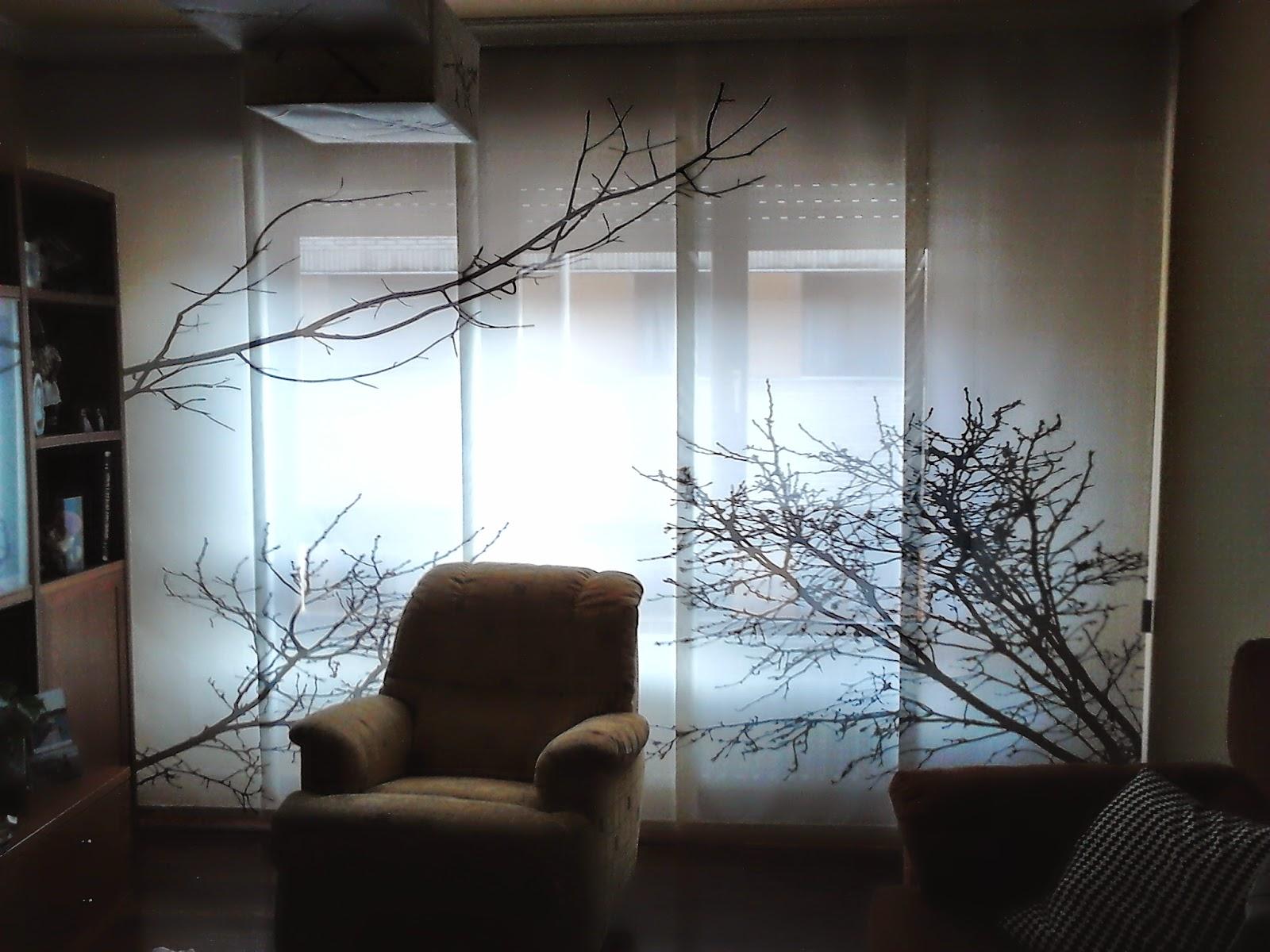 Cortinas c y d - Panel japones salon ...