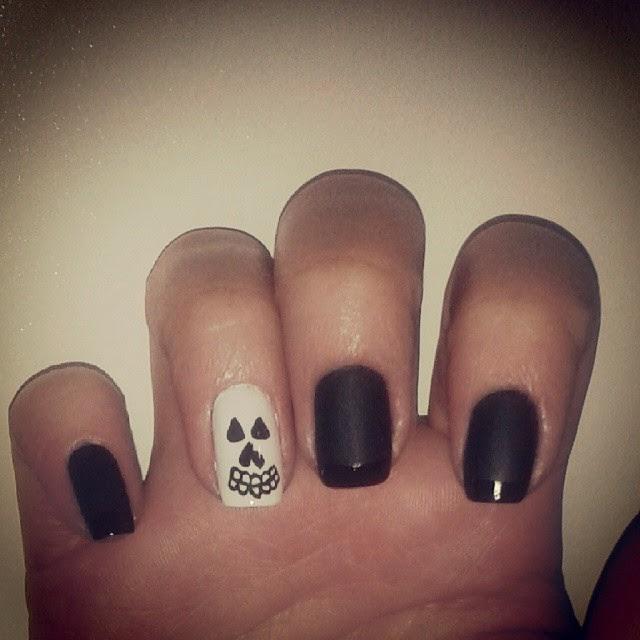 halloween unghie nail art