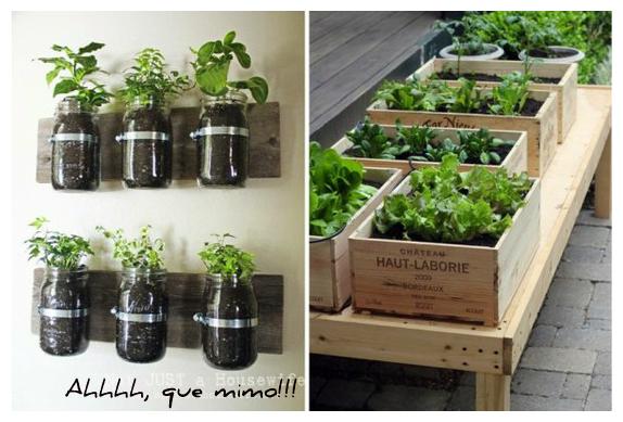 horta jardim na varanda: VOS QUERO!?: Hortas em Varandas, Terraços ou simplesmente Parapeitos