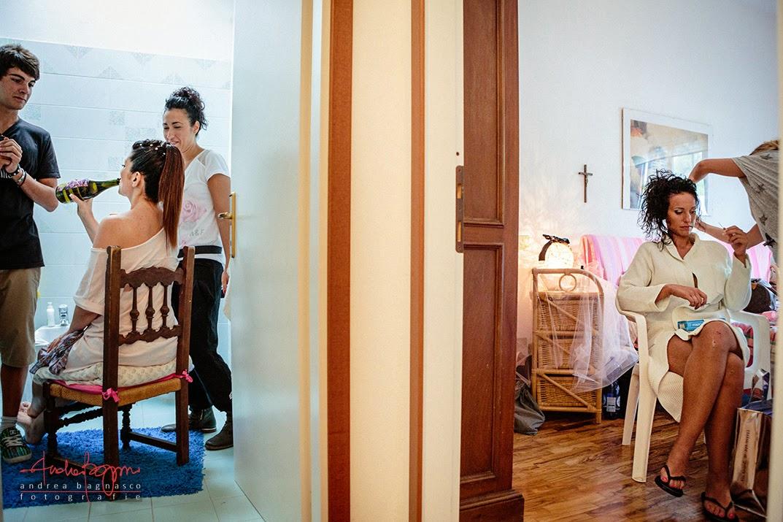 preparazione sposa matrimonio Finale Ligure