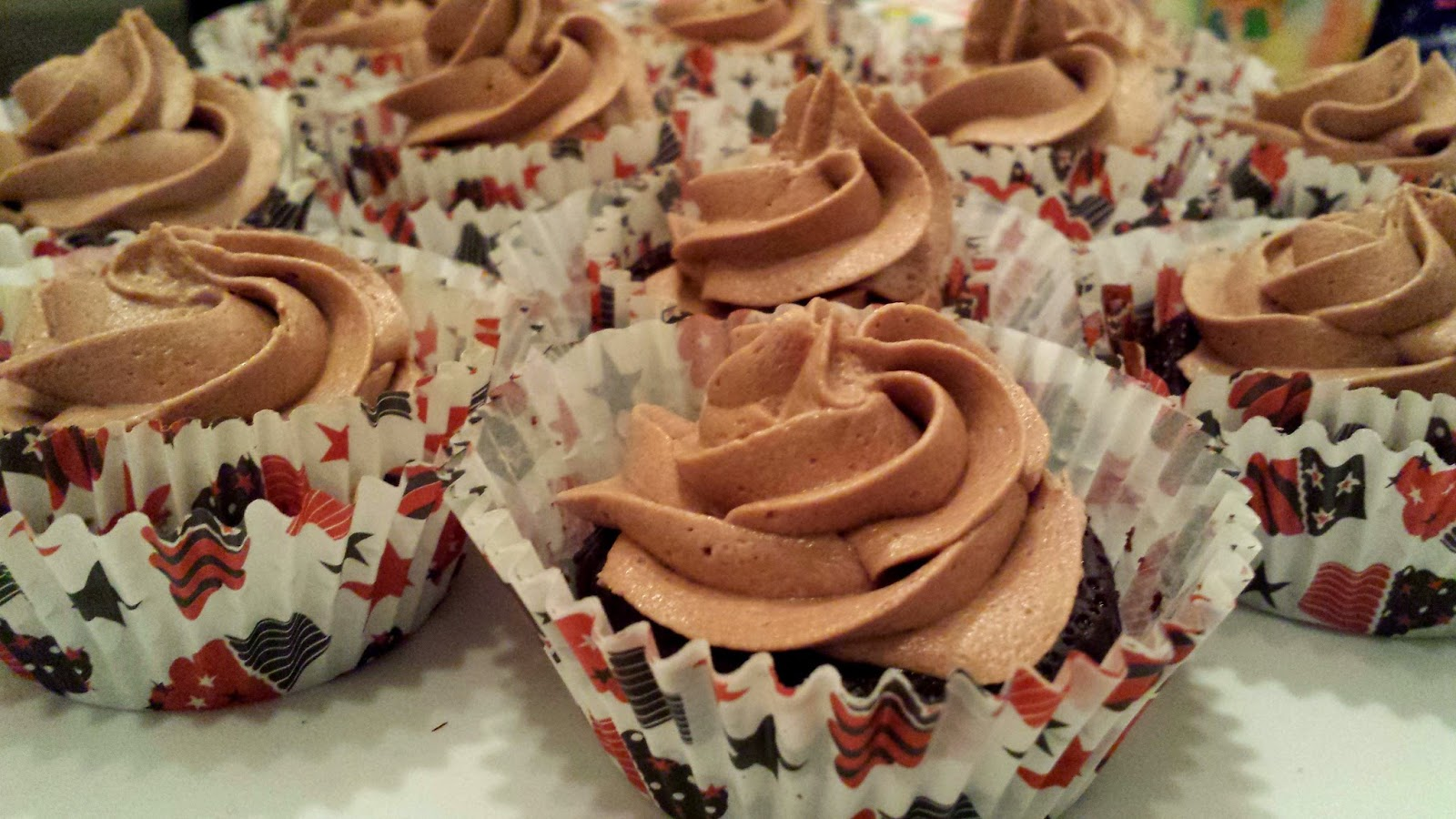 how to make mocha cupcakes