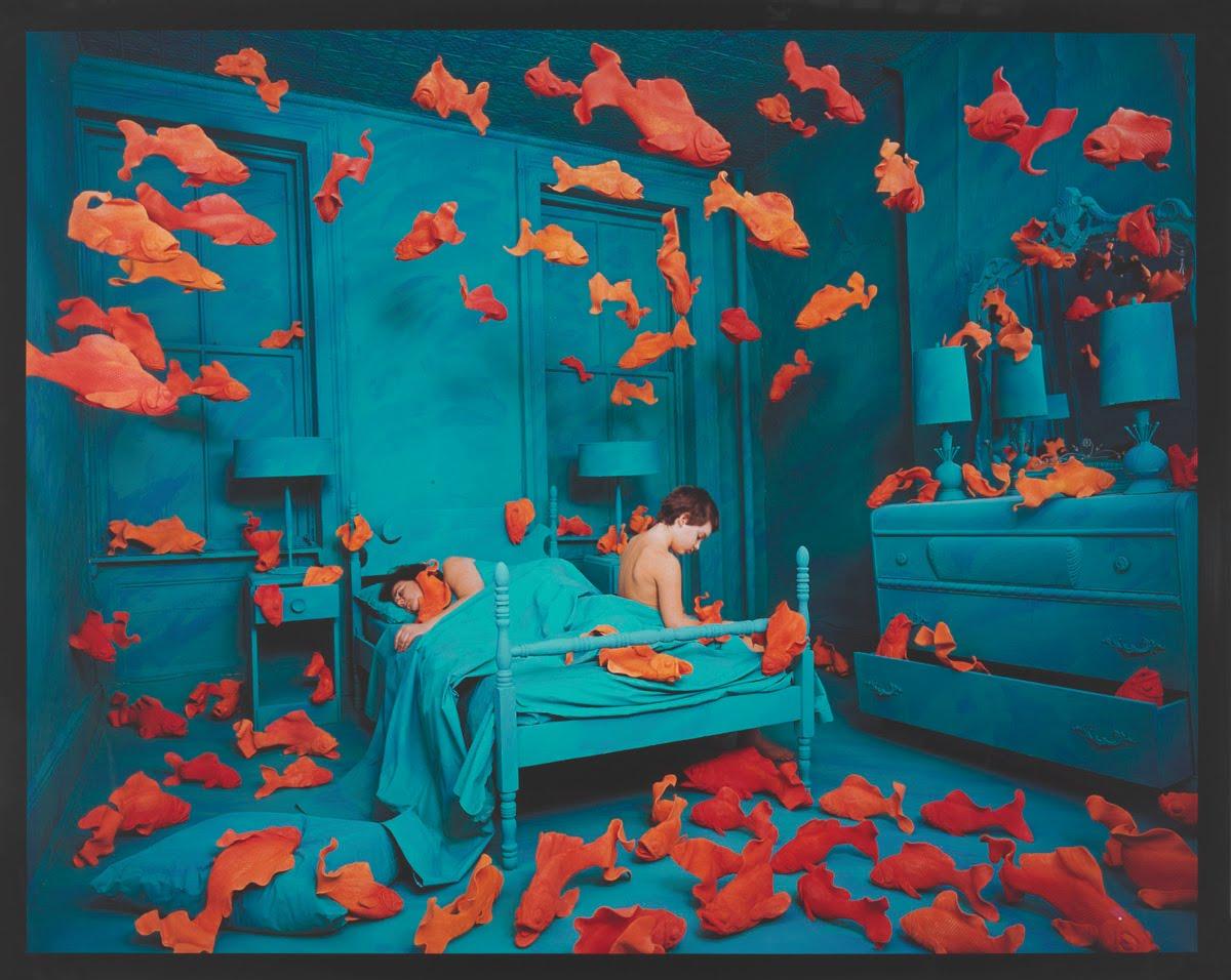artist sandy skoglund Grace glueck reviews sandy skoglund retrospective at smith college museum of art, northampton, mass photo (l.