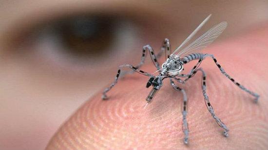 Negara Barat Cipta Serangga Kecil Sebagai Pembunuh