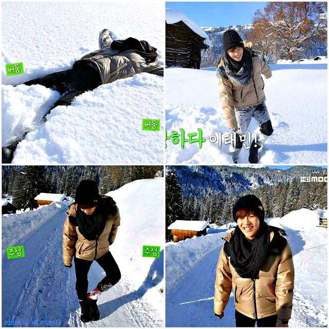 Shinee's Wonderful Day episode 8 taemin