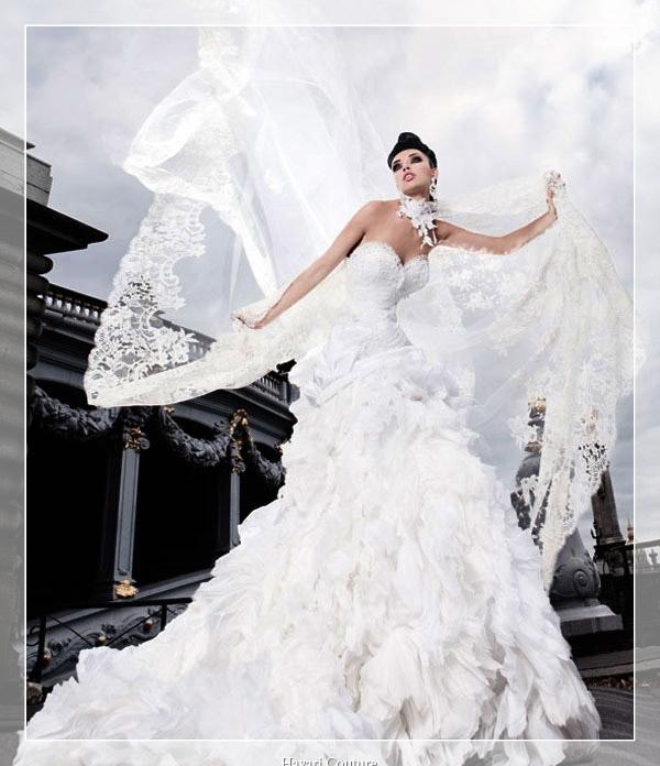 фото свадебных платьев от кутюрье