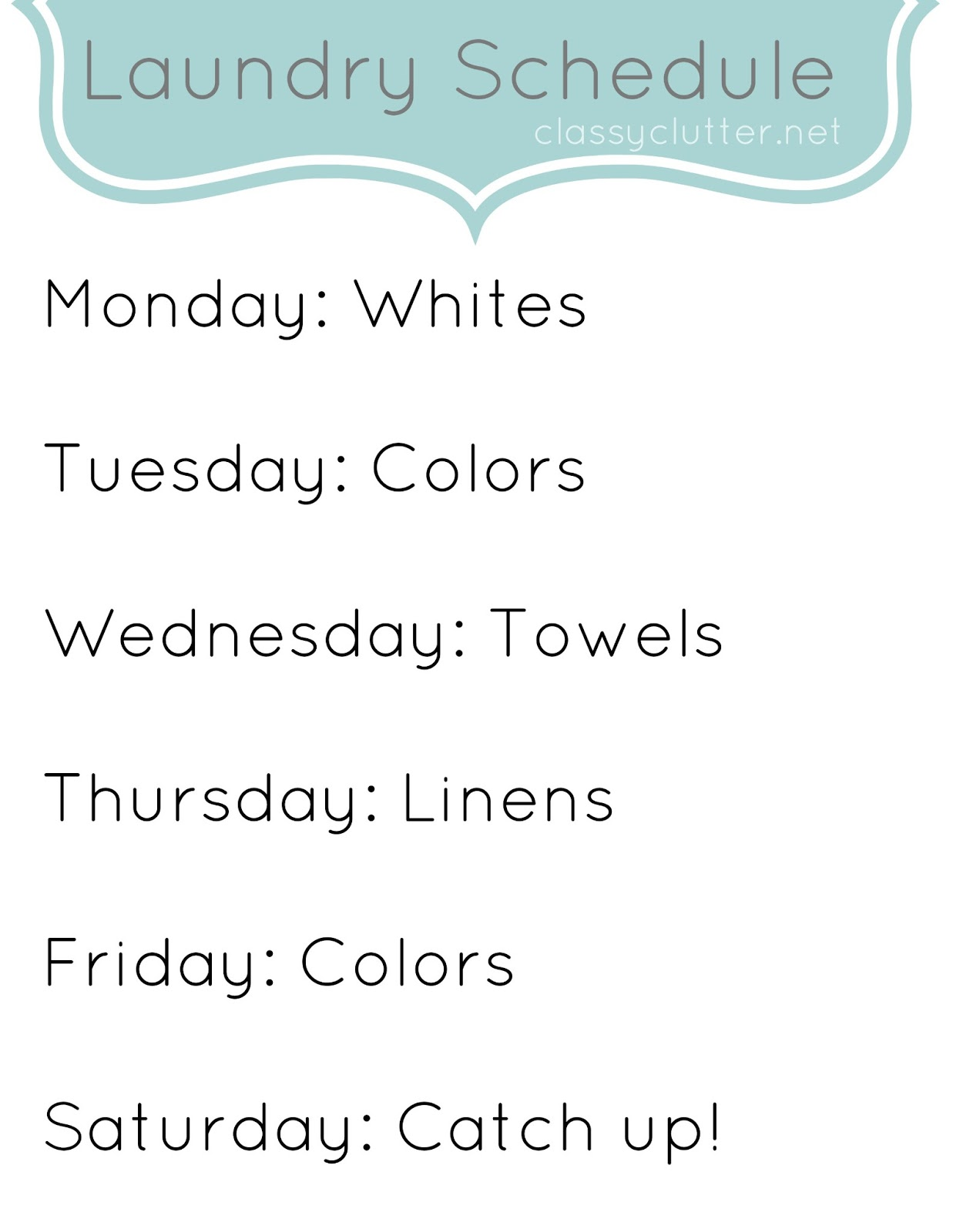 weekly cleaning schedule improve your cleaning habits clutter