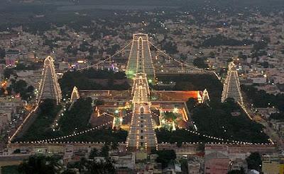 Picture of Lord Shiva Arunachaleswarar Temple in Tiruvannamalai Tamilnadu