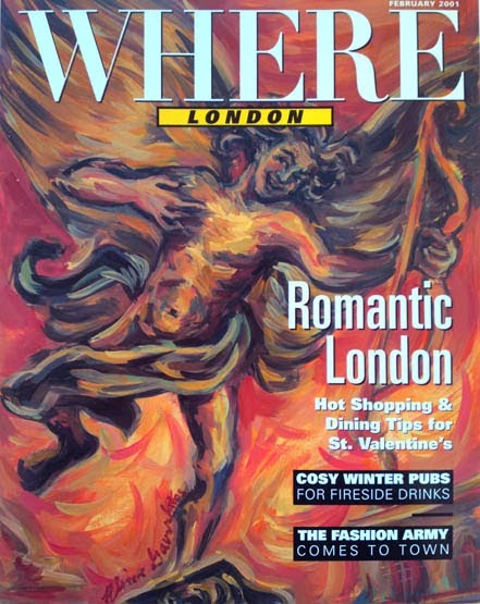 The Where Magazine Cover