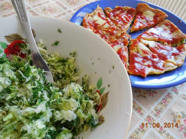 CLOMPI cu salata de varza