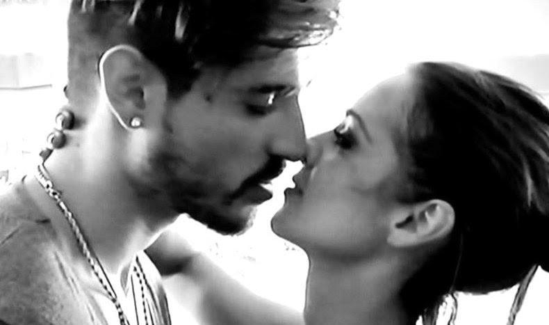 Teresa Cilia e Fabio Colloricchio bacio