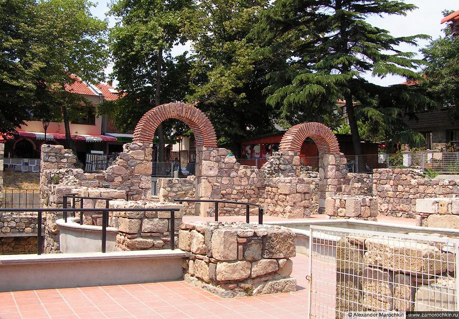 Средневековые крепостные стены в Созополе | Medieval city walls in Sozopol