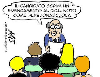 #labuonascuola maturità satira vignetta