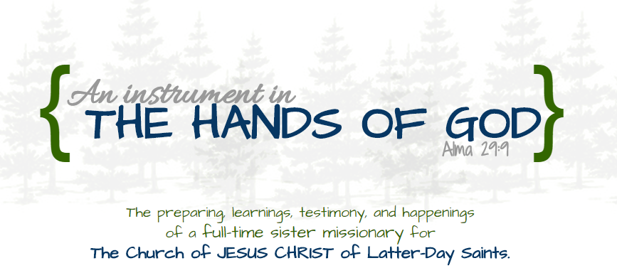 """An Instrument in the Hands of God"""
