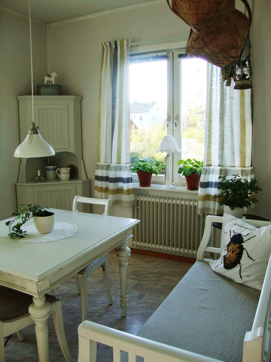 Gardiner gardiner till kök : solstrimmor: Nya gardiner i köket och äntligen sol