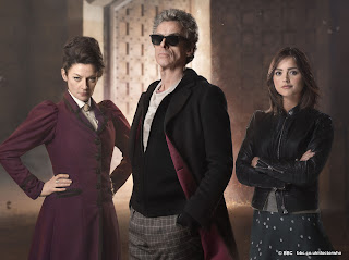 Doctor Who The Magician's Apprentice Clara Missy Doctor Sunglasses