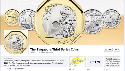 Check out the mas facebook page or the monetary authority of singapore