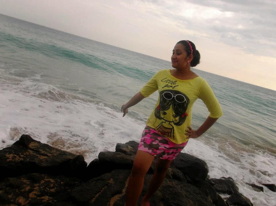 Madhu Nithyani short skirt