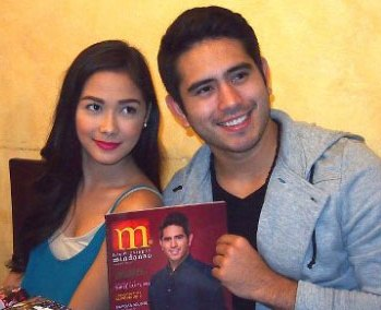Gerald Anderson wants to court Maja SAlvador if given the chance