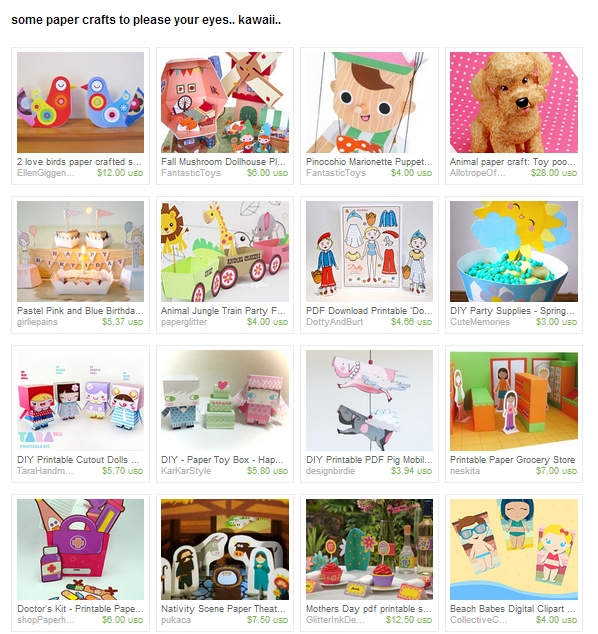 http://www.etsy.com/treasury/MTc4MjQ4NDh8MjcyMTY2ODA4NQ/some-paper-crafts-to-please-your-eyes?index=24