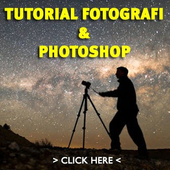 Paket DVD Tutorial Fotografi & Photoshop :