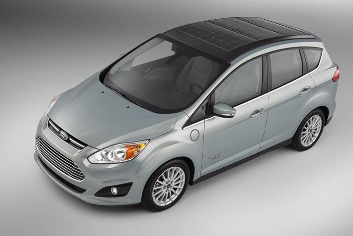 Ford C-Max Solar, así es un coche que funciona con energía solar