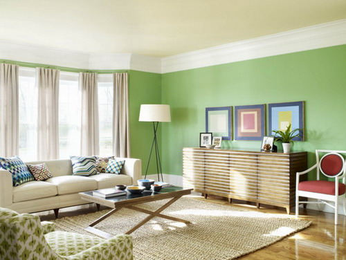 Some very important considerations in mind when choosing interior paint colors for your house - Green paint colors for living room ...