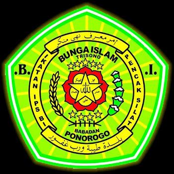 LAMBANG IPS BUNGA ISLAM