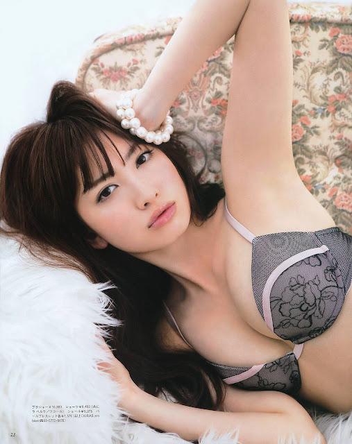 Kojima Haruna para ANAN foto5