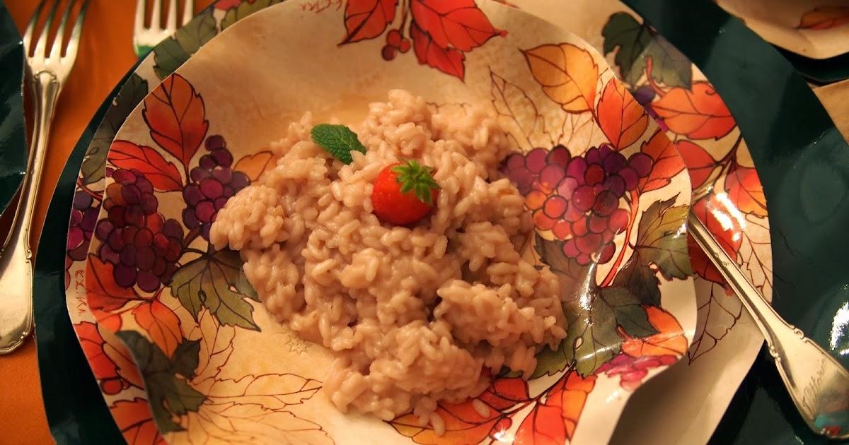 Cucinare per amore naturalmente risotto con le for Cucinare risotto