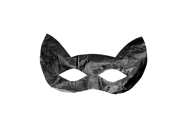 easy halloween cat mask template