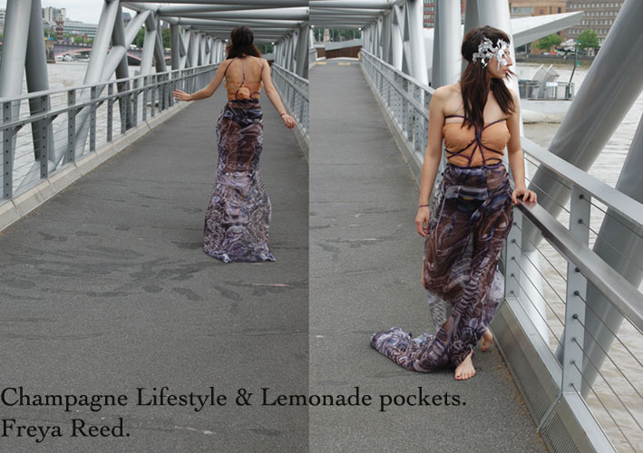 Champagne Lifestyle & Lemonade pockets