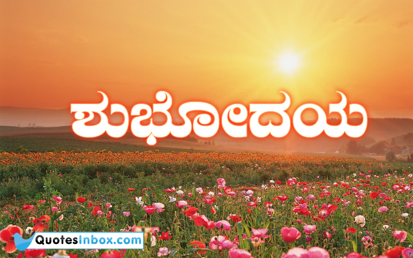 best kannada language good morning messages and pics all kannada ...