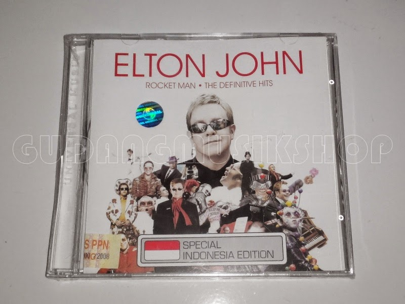 CD Elton John - Rocket Man : The Definitive Hits - GUDANG MUSIK SHOP