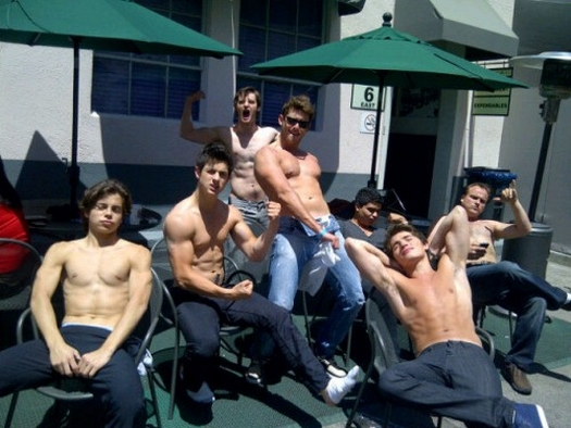 En Esta Foto  Todos Los Chicos De La Serie De Disney Channel   Los