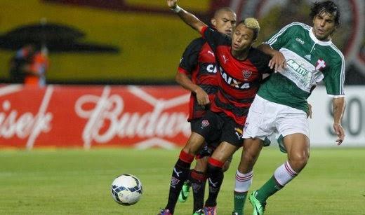 três pontos contra o Palmeiras