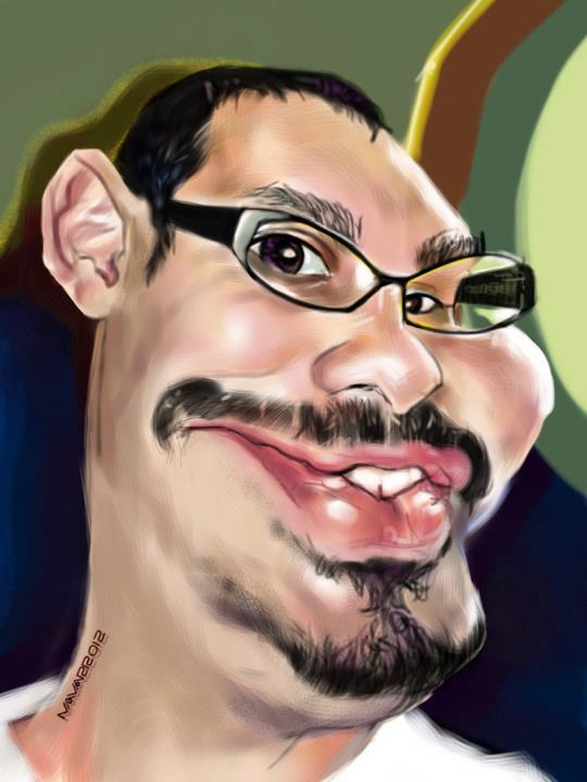 Intercambio de caricaturas caricapixels for Salvador navarro