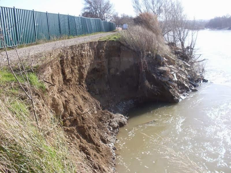 Daño mota de la Cartuja Ebro