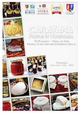 """Caravana """"Produs în Hunedoara"""", 18-19 august 2017"""