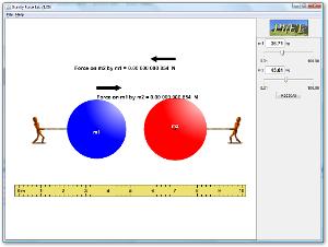 Simulasi Interaktif Fisika: Gaya Gravitasi