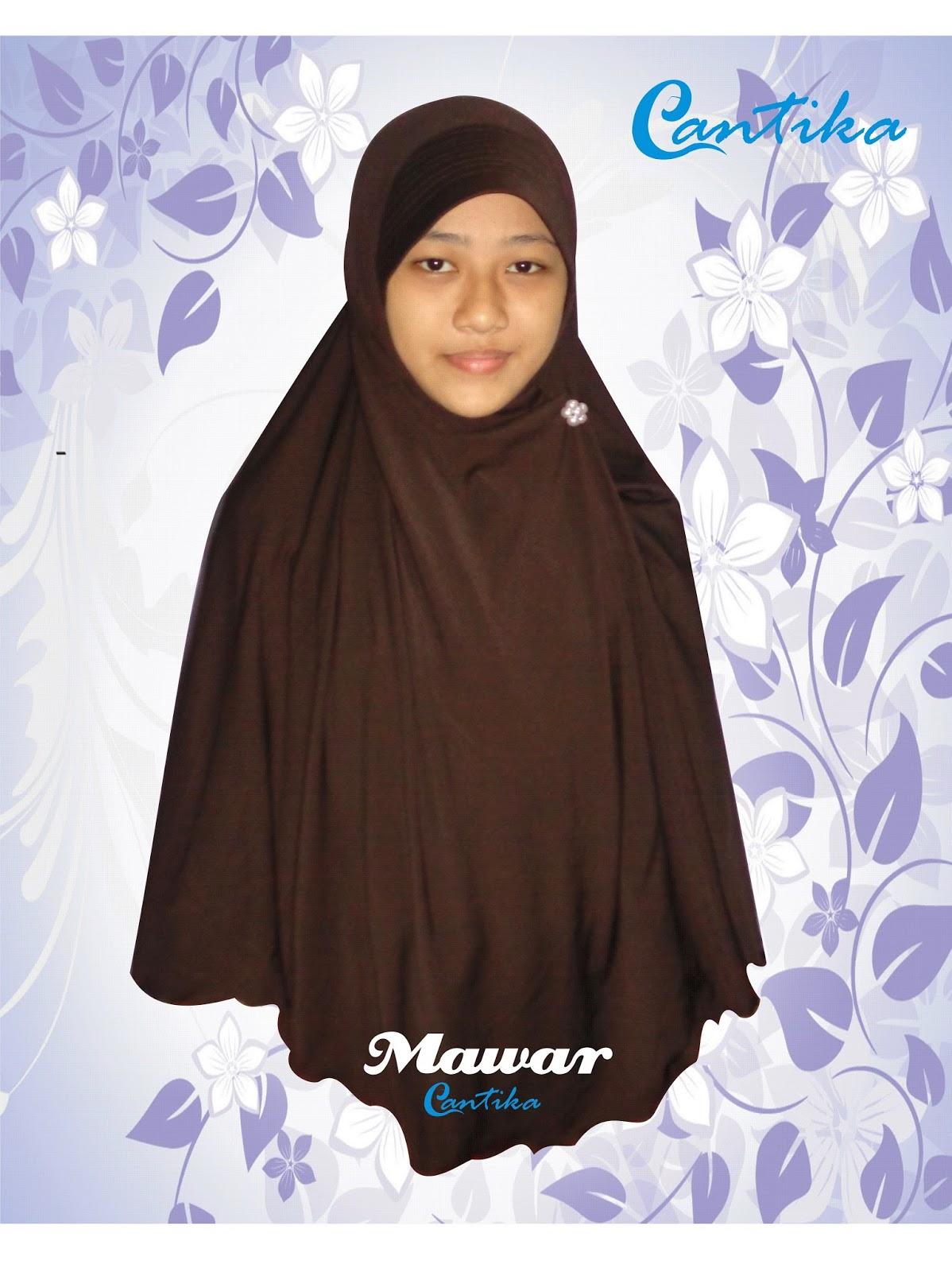 Cantika Muslimah Style Jilbab Cantika Jersey Model Mawar