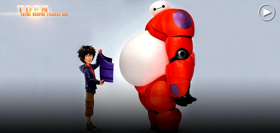 Primul Clip Din Animaţia Marvel BIG HERO 6: Fă Cunoştinţă Cu Hiro Şi Baymax