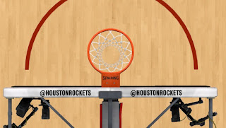NBA 2K13 Houston Rockets Court Ring Patch