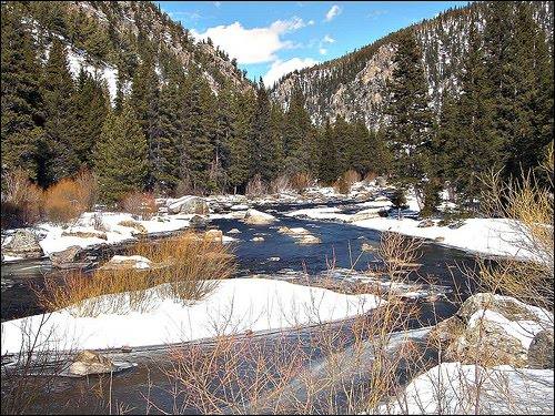 Fly fish addiction winter fly fishing crested butte how for Crested butte fishing